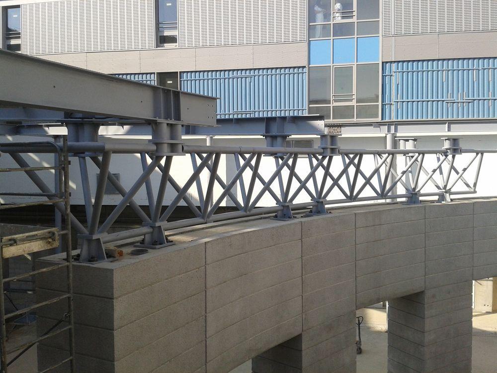 Structure métallique pour le bâtiment