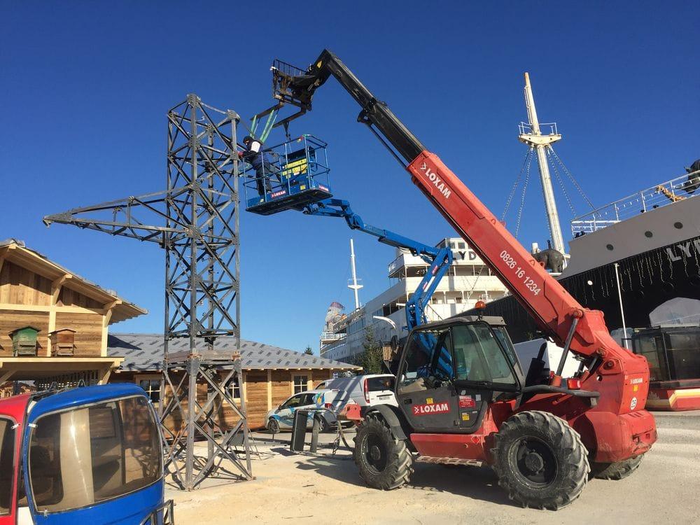 Maintenance électromécanique en hauteur