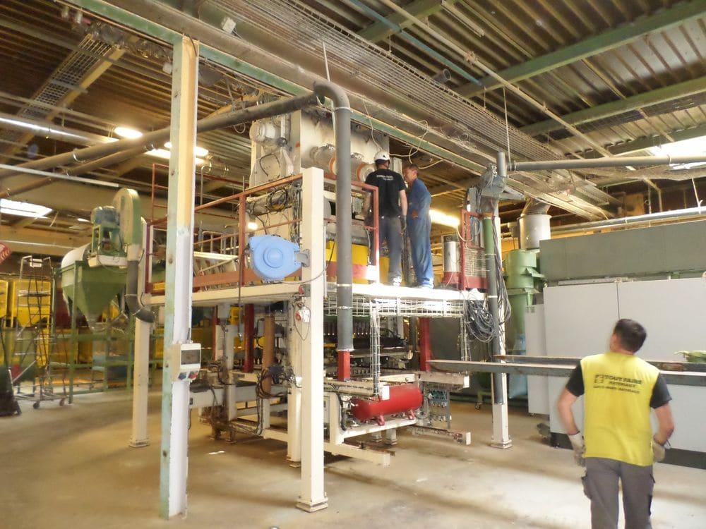 Maintenance électromécanique sur site