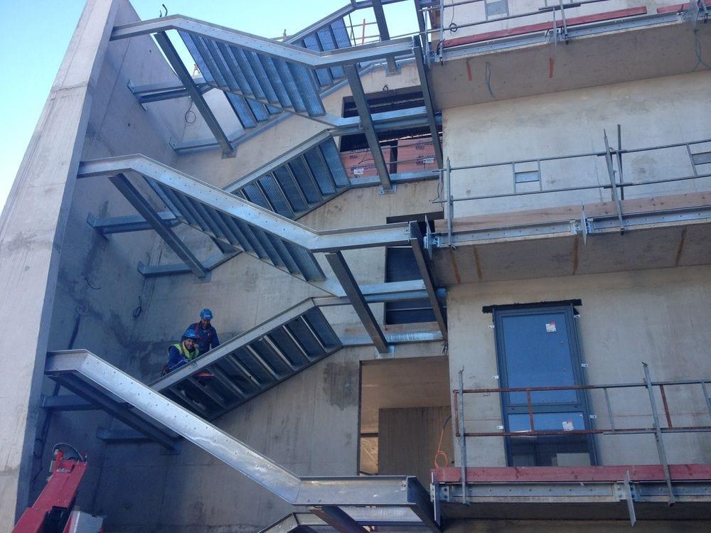 Escalier et paliers extérieurs