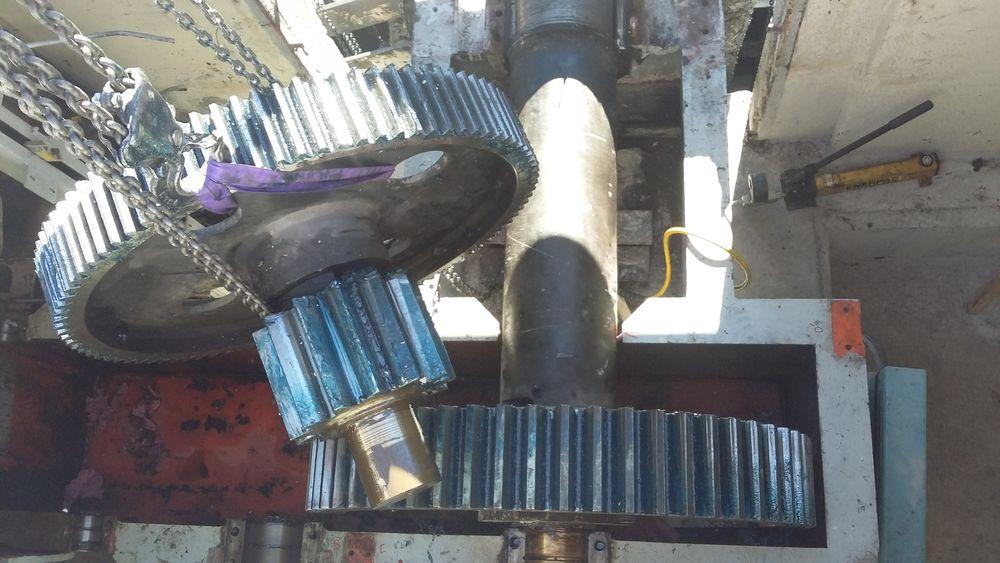 Hydroélectricité, engrenage
